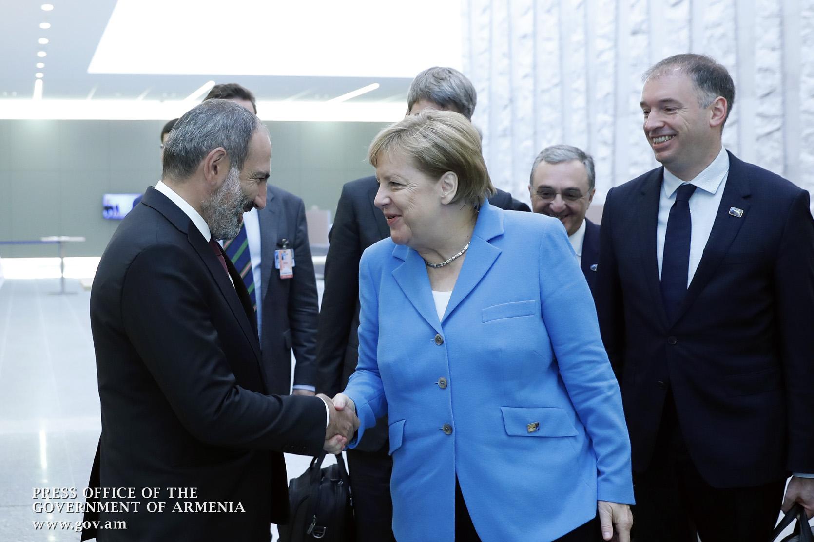Գերմանիայի կանցլեր Անգելա Մերկելը կայցելի Հայաստան. «168 ժամ»