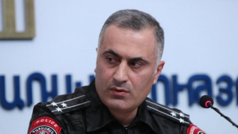 Նախագահը ստացել է փոխոստիկանապետ Հայկ Մհրյանին աշխատանքից ազատելու վերաբերյալ վարչապետի առաջարկությունը