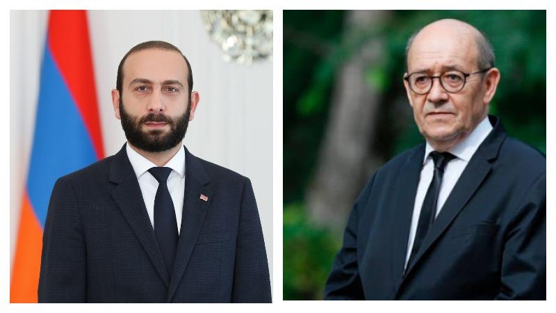 Ցանկանում եմ վերահաստատել Ֆրանսիայի լիակատար աջակցությունը դժվարին այս փուլն անցնող հայ ժողովրդին . Ֆրանսիայի ԱԳ նախարարի ուղերձը՝ Արարատ Միրզոյանին