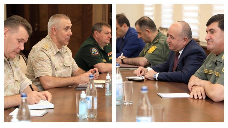 Արշակ Կարապետյանն ընդունել է գեներալ-լեյտենանտ Ռուստամ Մուրադովին (լուսանկարներ)