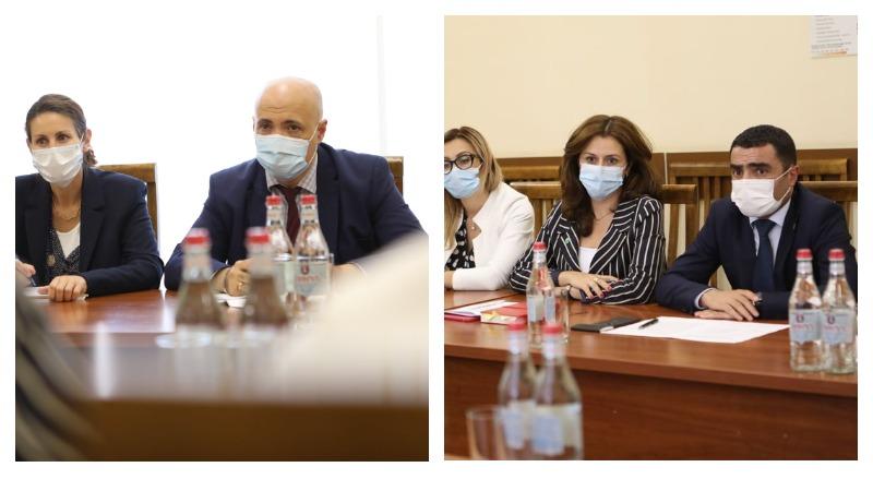 Քննարկել ենք հետագա համագործակցության առաջնահերթությունները. ՀՀ փոխվարչապետը հանդիպել է ՎԶԵԲ տարածաշրջանային տնօրեն Կատարինա Բյորլին Հանսենին