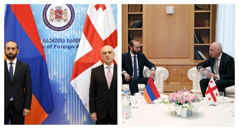 Արարատ Միրզոյանը հանդիպել է Վրաստանի ԱԳ նախարարին