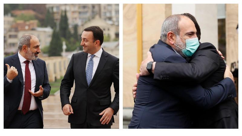 Հայաստանի և Վրաստանի վարչապետներն արդյունավետ են գնահատել երկկողմ բանակցությունները