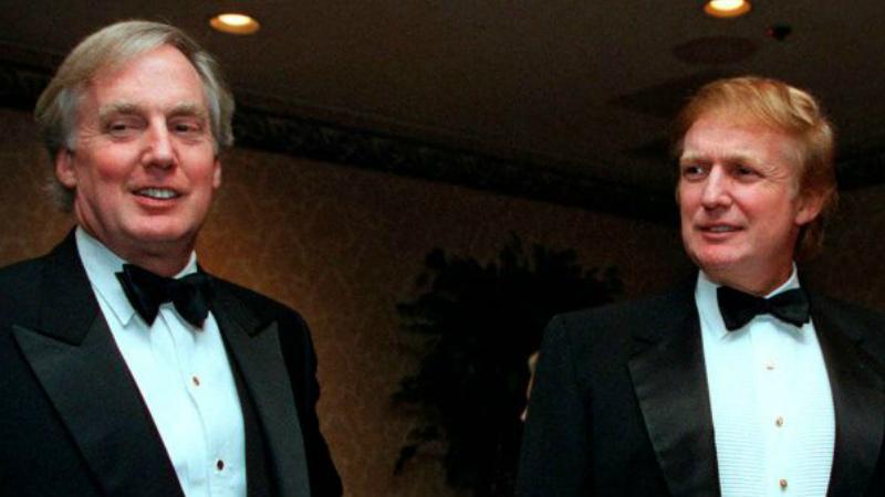 Մահացել է ԱՄՆ նախագահ Դոնալդ Թրամփի եղբայր Ռոբերտ Թրամփը