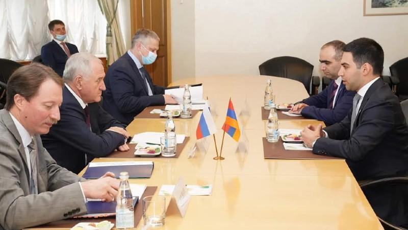 ՊԵԿ նախագահ Ռուստամ Բադասյանը երկօրյա այցով Մոսկվայում է