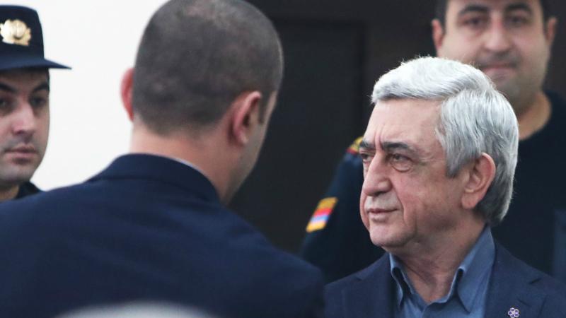 Սերժ Սարգսյանի և մյուսների գործով դատական նիստը .(տեսանյութ)