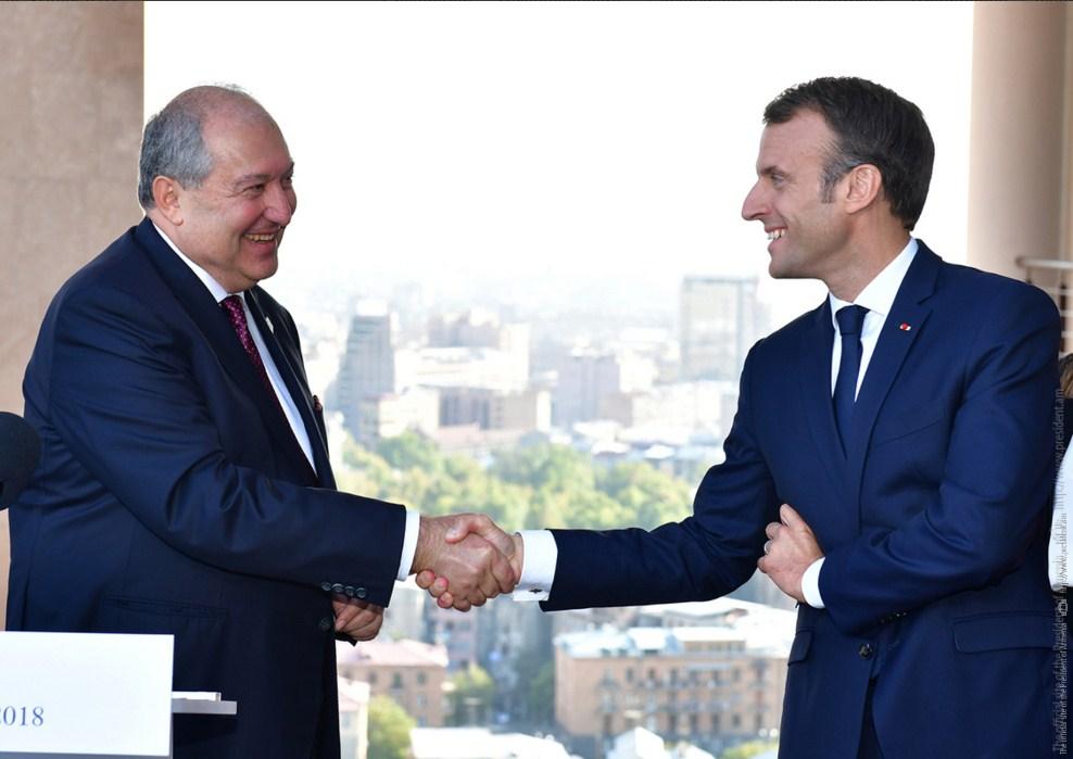 ՀՀ-ի ու Ֆրանսիայի հարաբերություններն արտոնյալ են. նախագահ Սարգսյանը շնորհավորել է Էմանուել Մակրոնին. նախագահ Սարգսյանը շնորհավորել է Մակրոնին՝ Ազգային տոնի առթիվ