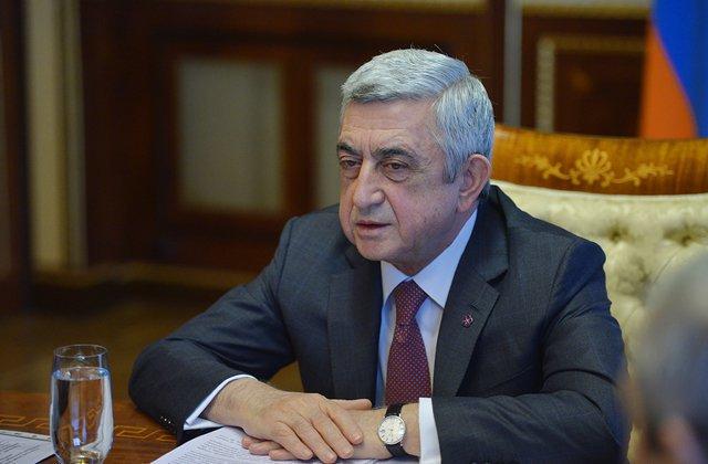 Սերժ Սարգսյանը այժմ գտնվում է Ստեփանակերտում․ Նաիրի Պետրոսյան