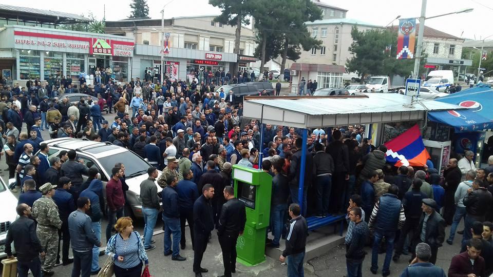 «Ադրբեջանական անդրադարձը Արցախի ցույցերին»