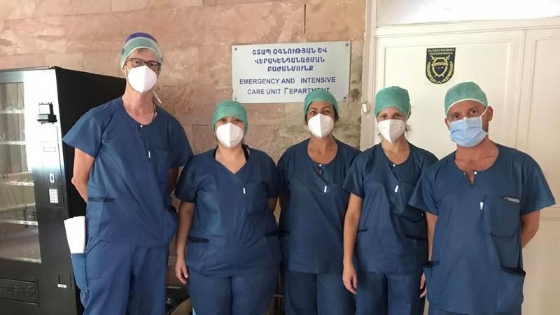 «Սուրբ Գրիգոր Լուսավորիչ» ԲԿ-ում մեկնարկեցին իտալացի բժիշկների երկօրյա քննարկում-սեմինարները