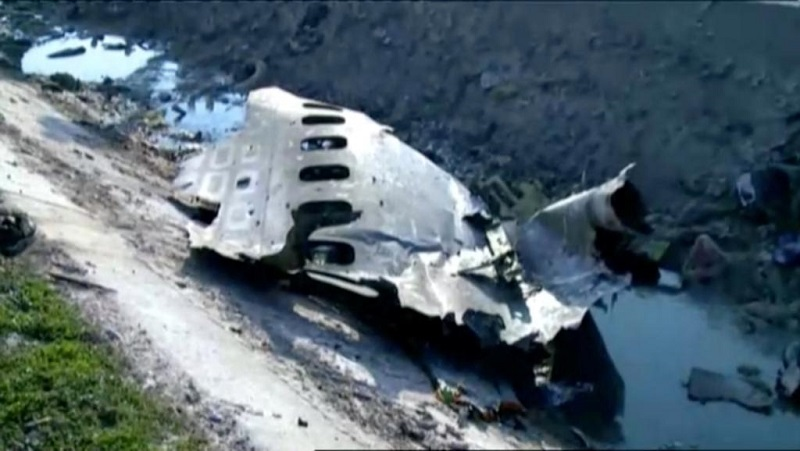 Թեհրան-Կիև չվերթի ինքնաթիռը խոցվել է իրանական «երկիր-երկինք» դասի հրթիռով․ Belligcat