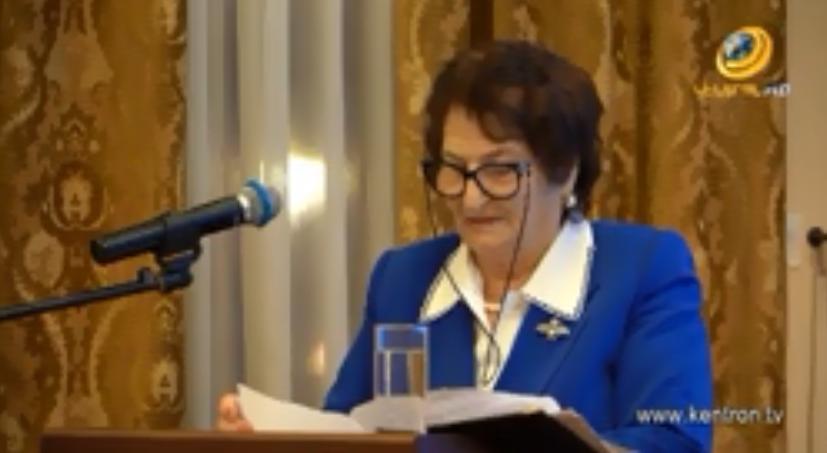 Ռոզա Ծառուկյանը Մոսկվայում արժանացել է Դիանա Աբգարի անվան պատվո մեդալի (տեսանյութ)