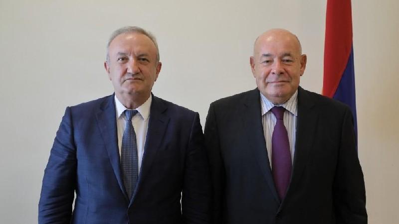 Վահրամ Դումանյանն ընդունել է Միխայիլ Շվիդկոյին