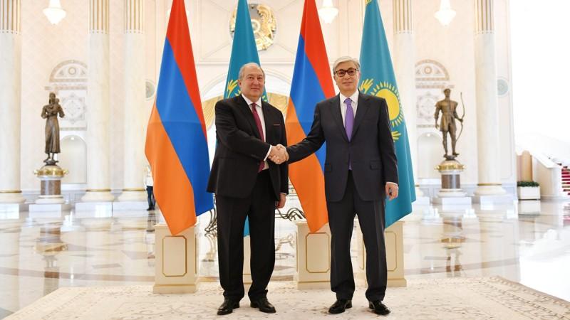 Անխախտ բարեկամությունը հիմք կլինի Ղազախստանի և ՀՀ-ի միջև համագործակցության համար․ Տոկաև