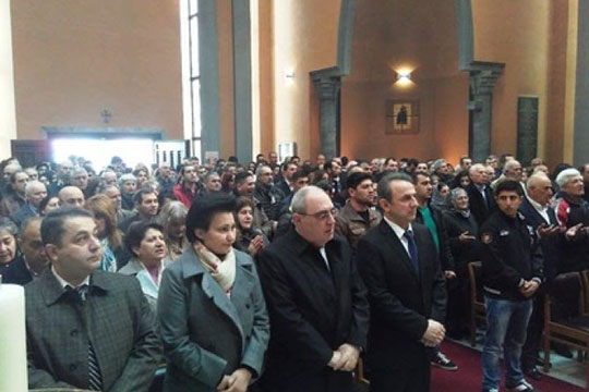 Բելգիայում ոգեկոչել են Հայոց ցեղասպանության զոհերի հիշատակը
