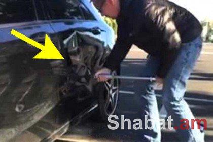 Ինչպես վայրկյանների ընթացքում վերականգնել մեքենայի վնասված մասերը (տեսանյութ)