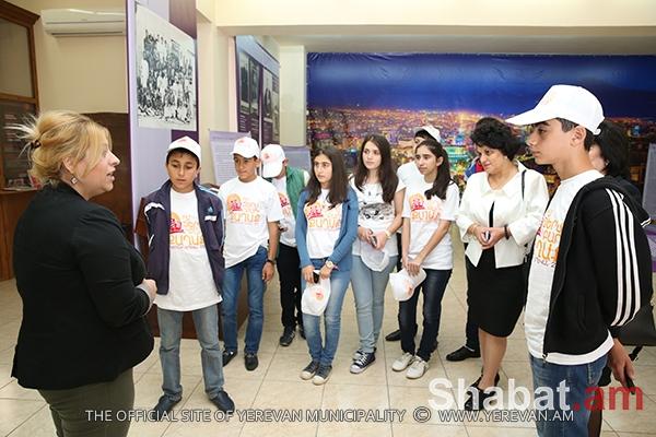 Մարտակերտցի երեխաները` Երևան քաղաքի պատմության թանգարանում (լուսանկարներ)