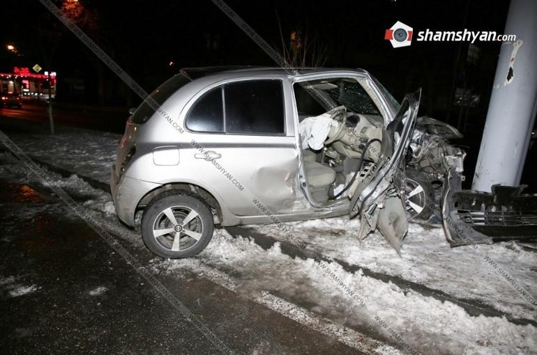 Երևանում վարորդը վրաերթի է ենթարկել 26-ամյա հետիոտնին