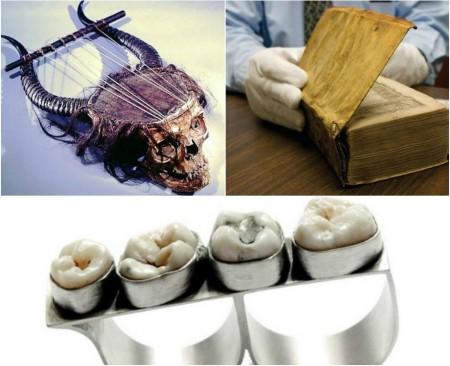 5 ամենատարօրինակ առարկաները, որ ստեղծվել են մարդկանց մարմնի մասերից