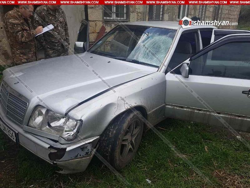 Տավուշում 27-ամյա վարորդը Mercedes-ով վրաերթի է ենթարկել  հետիոտնին. վերջինս ճանապարհին մահացել է