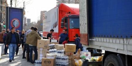 Օպերատիվ շտաբն ապրիլի 15-ի դրությամբ մոտ 418 մլն դրամի սնունդ է ընդունել