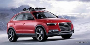 Audi Q3 նոր քրոսովերը շուկայում կհայտնվի 2018 թվականին