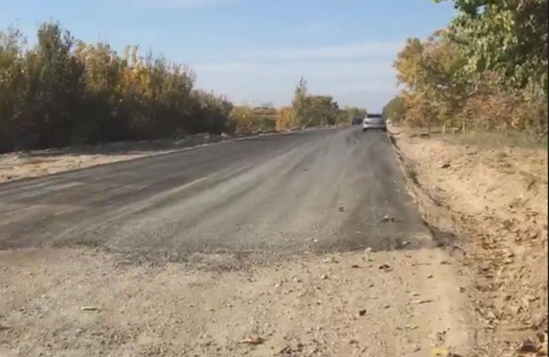 Ասֆալտապատվում է Նորաշեն-Դվին 2.7 կմ երկարությամբ ճանապարհահատվածը