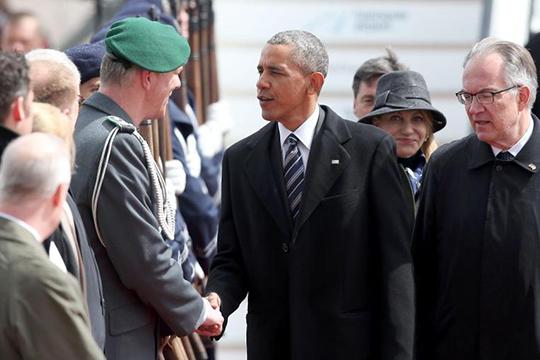 Բարաք Օբաման աշխատանքային այցով ժամանել է Հանովեր