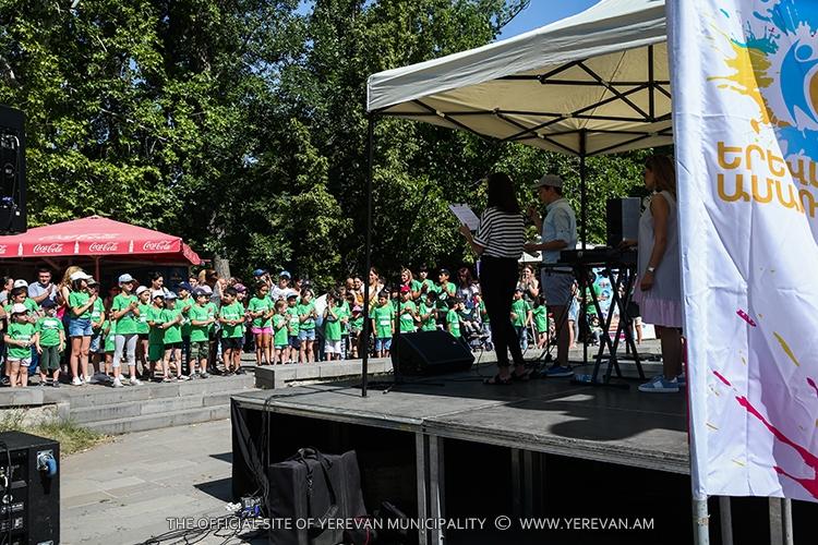 «Երևանյան ամառ 2018». կայացել է մանկական բարեգործական երկրորդ ներառական վազքարշավը