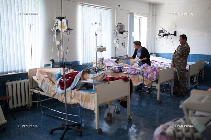 Հակառակորդի կրակոցներից վիրավորված երեխաները կրկնակի վիրահատության են ենթարկվել. վիճակը մոտ է բավարարին