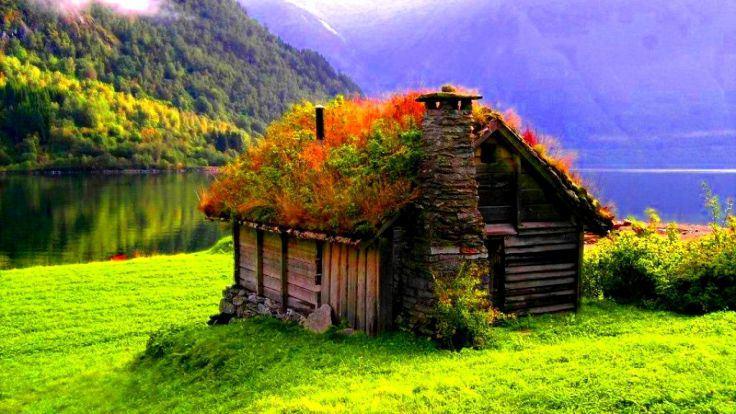 Տներ, որոնք կառուցել են բնությունը սիրող մարդիկ (ֆոտոշարք)