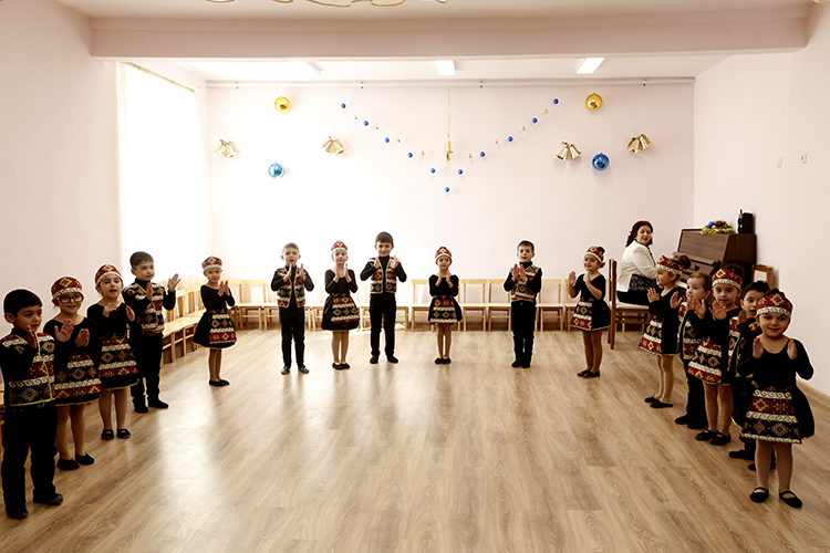 Երևանի հ. 160 մանկապարտեզը հիմնանորոգումից հետո իր դռներն է բացել ավելի քան 160 սաների առջև