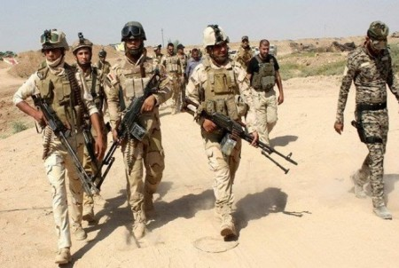 Իրաքյան ուժերն սկսել են ազատագրման գործողությունները Սալահ ադ Դին նահանգի հյուսիսում