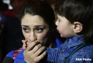 Հայ ծանրամարտիկները ժամանեցին Երևան (լուսանկարներ)