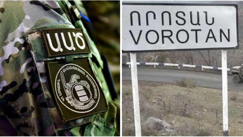 Որոտան բնակավայրի մոտ ադրբեջանցիները իրականացնում են ՀՀ եկող՝ իրանական պետհամարանիշներով բեռնատարների ստուգում․ ՀՀ ԱԱԾ