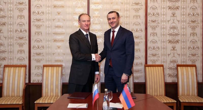 Ռուսաստանի ԱԱԽ քարտուղարը ժամանում է Հայաստան