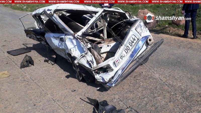 Խոշոր վթար՝ Վայոց ձորում. վարորդը տեղում մահացել է