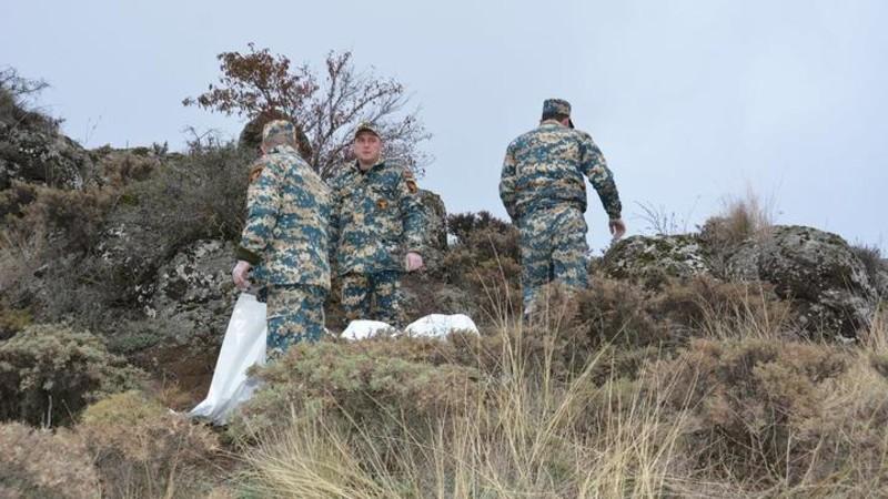 Զոհված զինծառայողների աճյունների որոնման աշխատանքներն այսօր շարունակվում են Իշխանաձոր համայնքի տարածքում