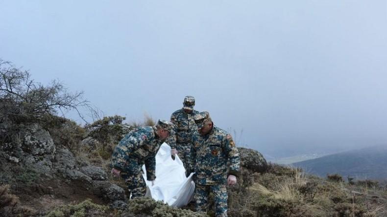 Զինծառայողների աճյունների որոնումներն այսօր շարունակվում են Կովսականի (Զանգելան) ուղղությամբ