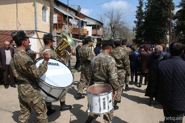 Հրաժեշտ տվեցին մարտունեցի զինվորին՝ Վլադիմիր Նարինյանին