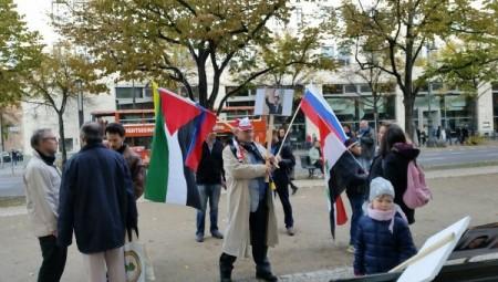 Բեռլինում Ռուսաստանի ռազմական գործողությունները պաշտպանող հանրահավաք է անցկացվել