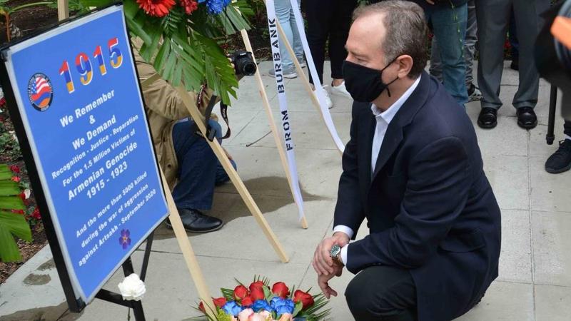 Ես մշտապես կլինեմ հայ համայնքի կողքին, քանի որ մենք պահանջում ենք խաղաղություն և անկախություն Արցախի համար. Ադամ Շիֆ