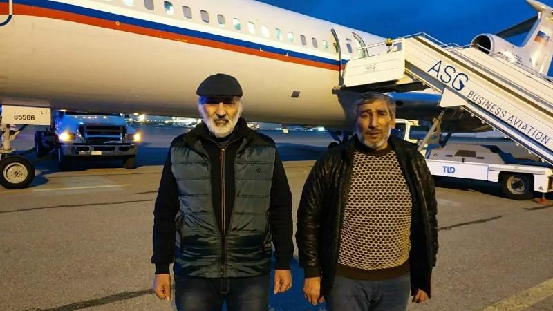 Հայաստանն Ադրբեջանին է վերադարձրել Դիլհամ Ասկերովին և Շահբազ Գուլիևին