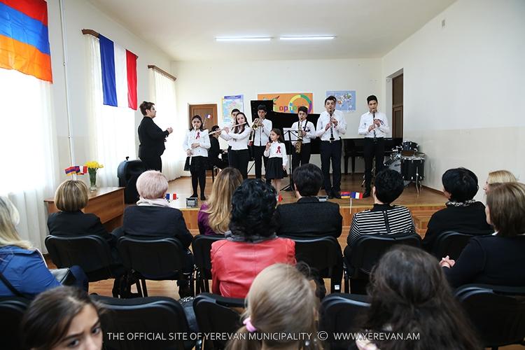 Ֆրանսիական մշակույթի օրեր՝ երաժշտական և արվեստի դպրոցներում