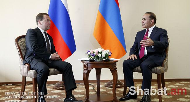 Մինչև տարեվերջ Հայաստան կժամանի ՌԴ վարչապետ Դմիտրի Մեդվեդևը