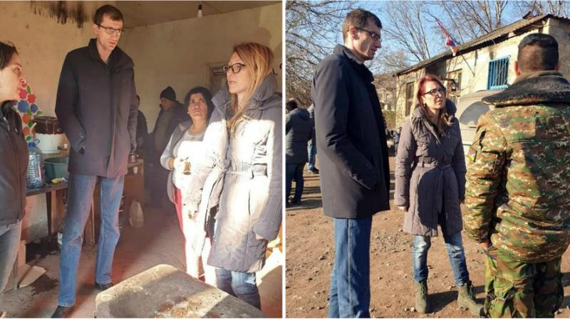 ԱՀ և ՀՀ սոցապ նախարարներն այցելել են Աղավնո համայնք