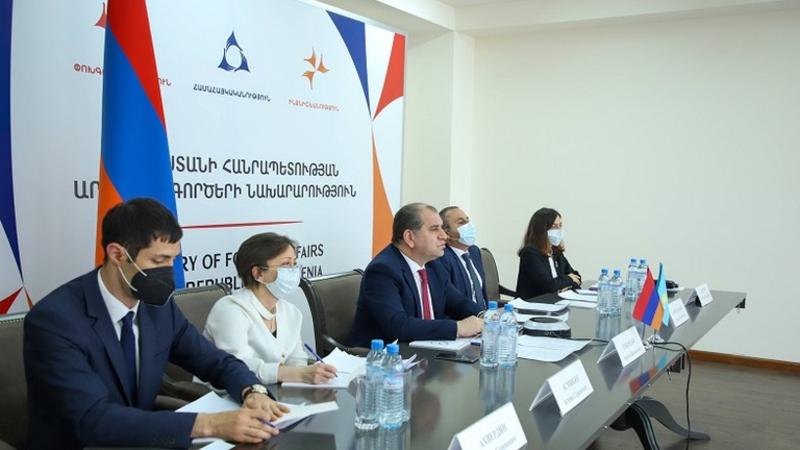 Հայաստանի և Ղազախստանի փոխարտգործնախարարները քննարկել են քաղաքական, առևտրատնտեսական, մշակութային և հումանիտար ոլորտներին առնչվող արդիական հարցեր