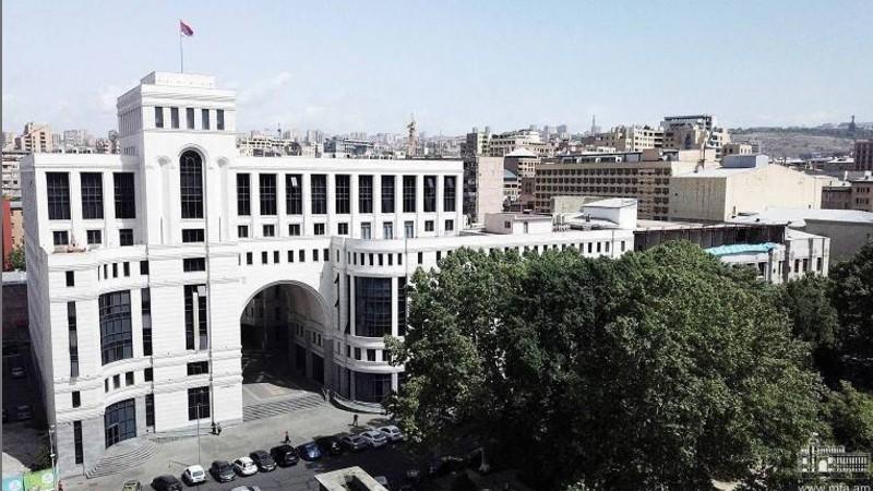 Թուրքիան գործում է ոչ թե որպես ԵԱՀԿ Մինսկի խմբի անդամ, այլ ԼՂ հակամարտության մեջ ներգրավված կողմ. ԱԳՆ հայտարարությունը