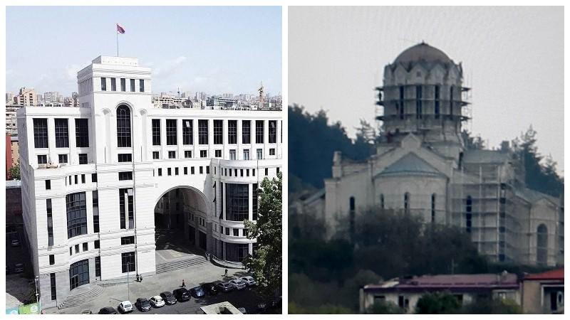 Ադրբեջանի գործողությունները վանդալիզմի դրսևորում են և նպատակ ունեն հայկական ինքնությունից զրկել Շուշիի Մայր տաճարը. ՀՀ ԱԳՆ