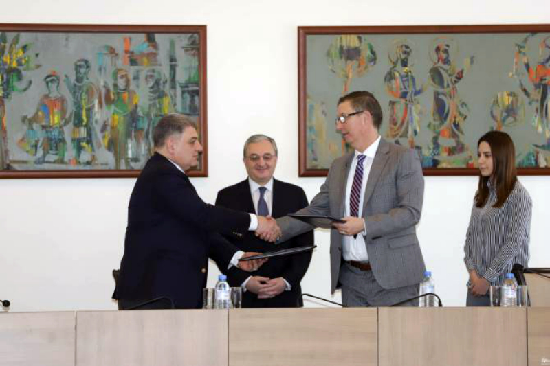 ՀՀ ԱԳՆ-ի եւ Հայաստանի ամերիկյան համալսարանի միջև համագործակցության հուշագիր է ստորագրվել